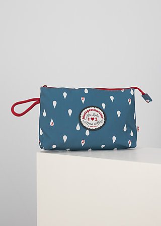 sweethearts washbag, baltic sea drops, Accessoires, Blau