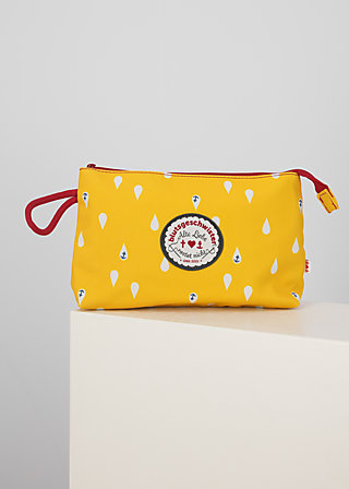sweethearts washbag, north sea drops, Accessoires, Yellow