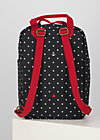 Rucksack wild weather, casual anchor, Accessoires, Schwarz