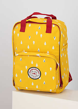 Backpack wild weather, north sea drops, Accessoires, Yellow