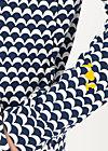 Kapuzenjacke cosyshell hooded long, sunny seaside, Jacken & Mäntel, Blau