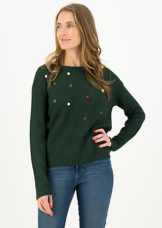 Knitted Jumper sea promenade, healthy green, Jumpers & Sweaters, Green
