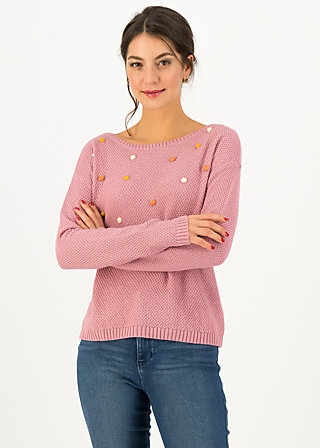 Knitted Jumper sea promenade, soft rose, Jumpers & Sweaters, Pink