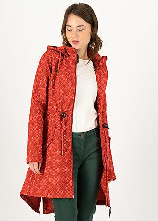 Softshelljacket swallowtail promenade, sweet apple, Jackets & Coats, Red