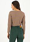 Longsleeve sweet sailorette, all colour stripes, Shirts, Rosa