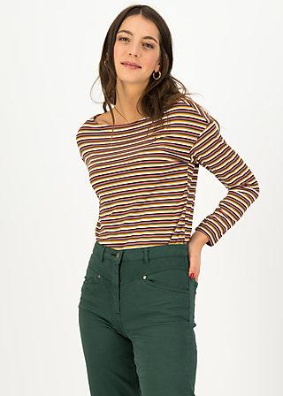 Longsleeve sweet sailorette, all colour stripes, Shirts, Pink