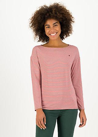 Longsleeve sweet sailorette, ash rose stripes, Shirts, Pink