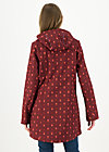 Softshelljacket wild weather long anorak, miss matroschka, Jackets & Coats, Red