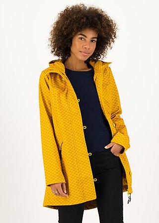 Soft Shell Parka wild weather long anorak, ahoi seashell, Jackets & Coats, Yellow