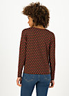 Longsleeve carry me home, ruby red, Shirts, Schwarz