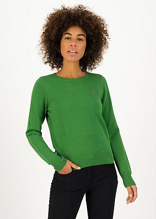 Strickpullover chic mystique, green classic, Grün