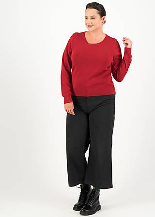Knitted Jumper chic mystique, red classic, Red