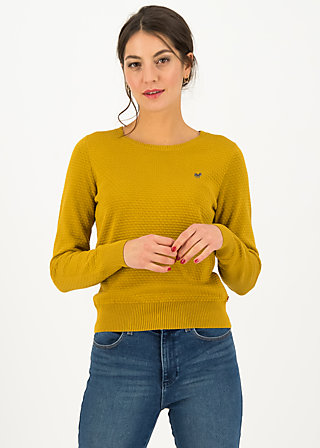 Knitted Jumper chic mystique, yellow classic, Yellow