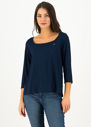 Shirt flow slow, team blue, Shirts, Blau