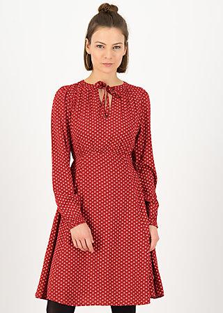 Langarm-Kleid greta in love, win win, Kleider, Rot