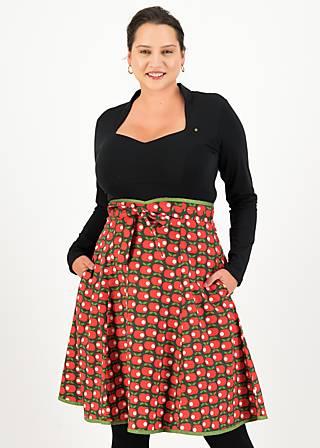 Circle Skirt harvest moon, greenery apple, Skirts, Green