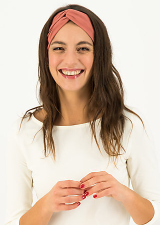 Headband hot knot, faded rose, Accessoires, Pink