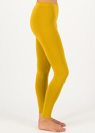 Baumwollleggings lovely legs, win gold, Leggings, Gelb