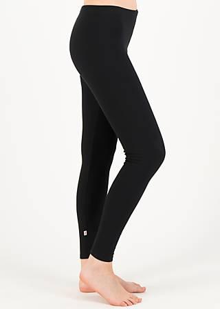 Sweat Leggings lovely walker, jump for black, Leggings, Black