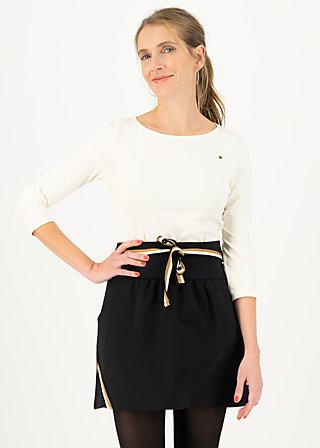 Mini Skirt molto bene, jump for black, Skirts, Black