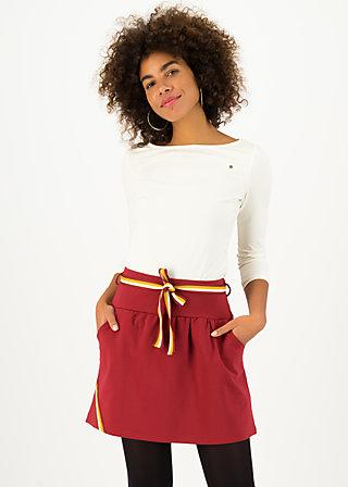 Mini Skirt molto bene, kiss red, Skirts, Red
