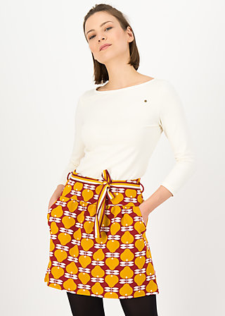 Mini Skirt molto bene, pear me up, Skirts, Red