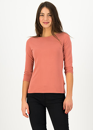 Jersey Top oh marine, faded rose, Shirts, Pink