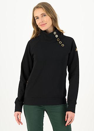 Sweater oh so nett, jump for black, Pullover & Sweatshirts, Schwarz
