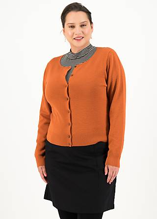 Cardigan save the brave, brown classic, Cardigans & lightweight Jackets, Brown