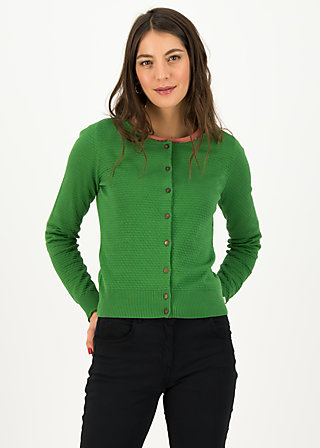 Strickjacke save the brave, green classic, Cardigans & leichte Jacken, Grün