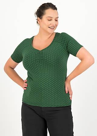 Jersey T-Shirt savoir-vivre, green dance, Shirts, Grün