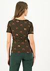 Jersey T-Shirt savoir-vivre, fiona fortuna, Shirts, Schwarz
