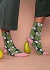 Baumwollsocken sensational steps, perfect peach, Accessoires, Grün