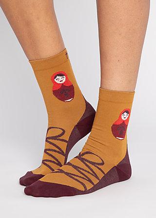 Socks sensational steps, masha matroschka, Accessoires, Yellow
