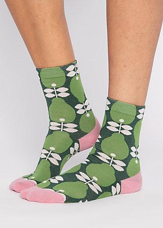 Socks sensational steps, perfect peach, Accessoires, Green