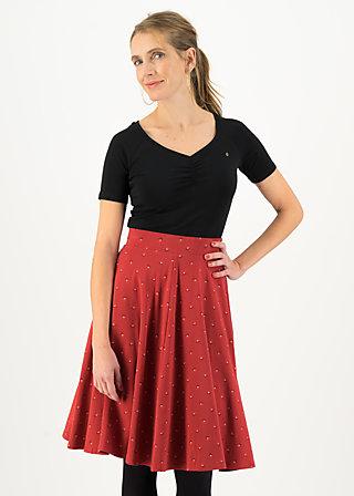 Circle Skirt wooden heart circular, little winner, Skirts, Red