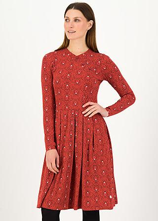 Herbstkleid crown princess, bibi babuschka, Kleider, Rot