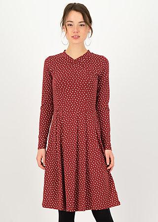 Herbstkleid crown princess, dollies dots, Kleider, Rot
