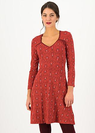 Herbstkleid diamond heart, bibi babuschka, Kleider, Rot