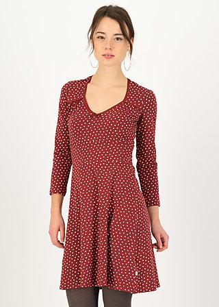 Herbstkleid diamond heart, dollies dots, Kleider, Rot