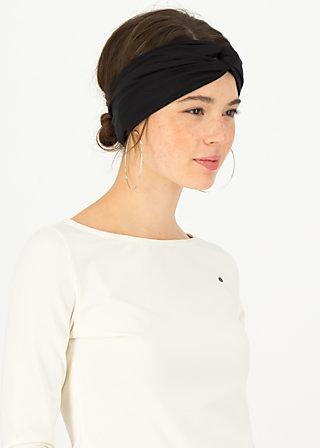 Haarband diva knot, black beautys, Accessoires, Schwarz