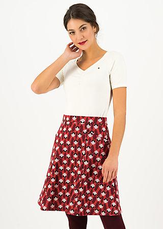 Circle Skirt elfentanz, rolling ruschka, Skirts, Red