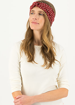 Haarband hot knot, dollies dots, Accessoires, Rot