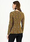 Longsleeve hot knot lacy, classy cassandra, Shirts, Gelb