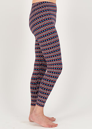Baumwollleggings lovely legs, betty bordure, Leggings, Blau