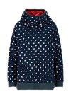 Hoodie matrioschkas armour, fleur de folk, Jumpers & Sweaters, Blue