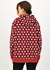 Hoodie matrioschkas armour, rolling ruschka, Pullover & Sweatshirts, Rot