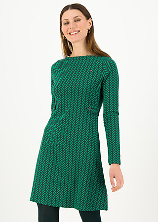 Etuikleid mod a lula, green zig zag, Kleider, Grün