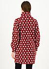 Sweat Dress mushroom party, rolling ruschka, Jumpers & Sweaters, Red
