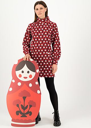 Long Jumper mushroom party, rolling ruschka, Jumpers & Sweaters, Red